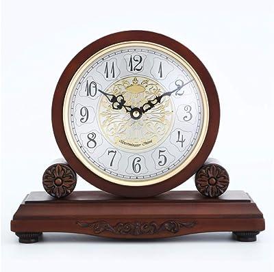Relojes de mesa para la Sala de Estar Decoración Dormitorio Escritorio Reloj Funciona con batería Silencio