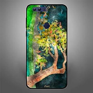 Huawei Honor 8 Watercolor tree leaves, Zoot Designer Phone Covers