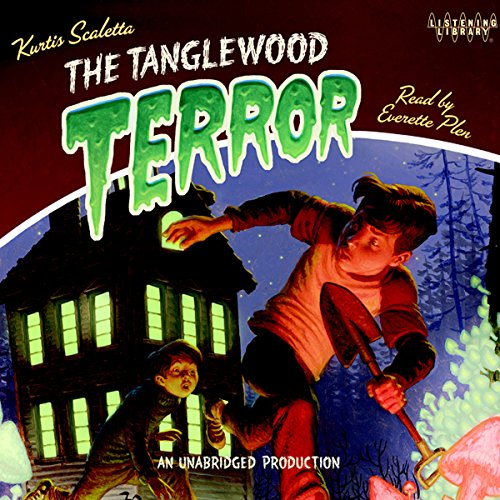 The Tanglewood Terror audiobook cover art