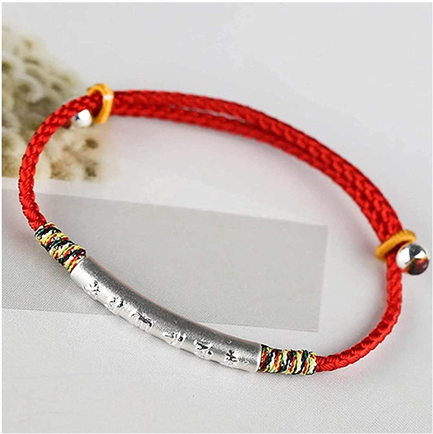 JXRY New product Feng Shui Treasure Bracelet Sterling Silver Six-Character M New Orleans Mall