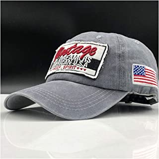 Bin Zhang 100% Washed Cotton Men Baseball Cap Fitted Cap Snapback Hat For Women Gorras Casual Casquette Embroidery Letter Retro