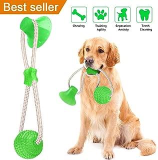 Juguete para Perro Mascota Juguete de dentici/ón para Perro Lindo Juguetes para Masticar Interactivo para Perros peque/ños medianos HOLECO Juego de Juguetes de Felpa para Perro de 3 Piezas