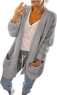 New!HAPPIShare Women's V-Neck Button Down Knitwear Long Sleeve Soft Basic Knit Cardigan Sweater