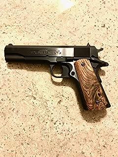CVL Gunworks, llc Spalted Buckeye Burl 1911 Grips
