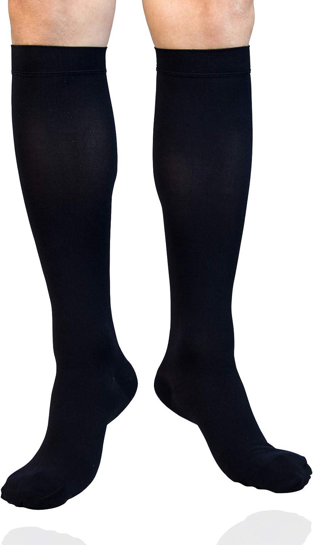 MGANG Elegant Compression Socks Closed Toe Graduated mmHg Compre 20-30 Ranking TOP8