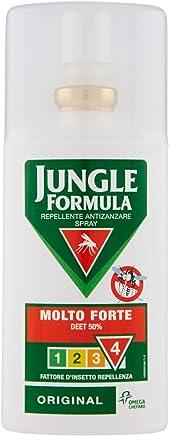 Jungle Formula Repellente Antizanzare Spray Molto Forte, 75 ml