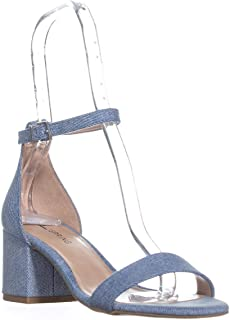 Call It Spring Stangarone Ankle Strap Sandals, Light Blue