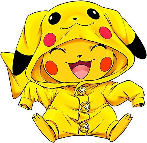 Okiwoki T-Shirt Noir Pokémon parodique Pikachu : Le Cosplayer Ultime !! (Parodie Pokémon)