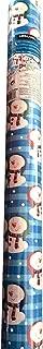 Kirkland Signature Reversible wrapping paper Snowman Designs