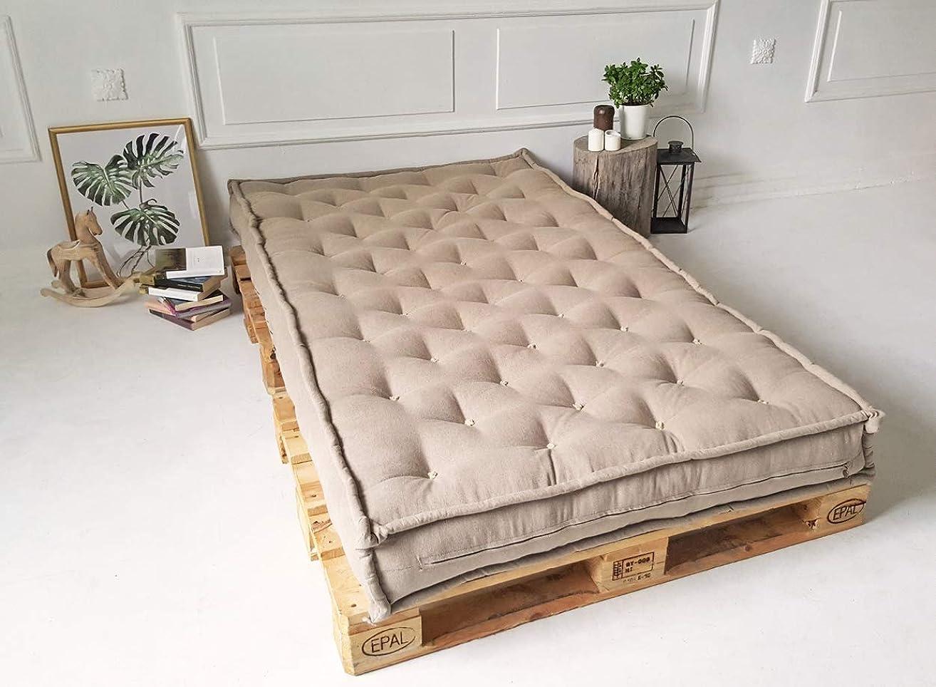 Wool Mattress/Custom Sizes, Shapes & Fabrics Available