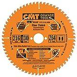 CMT 273.216.64m Lame circulaire itk-plus pour coupe de précision, Orange