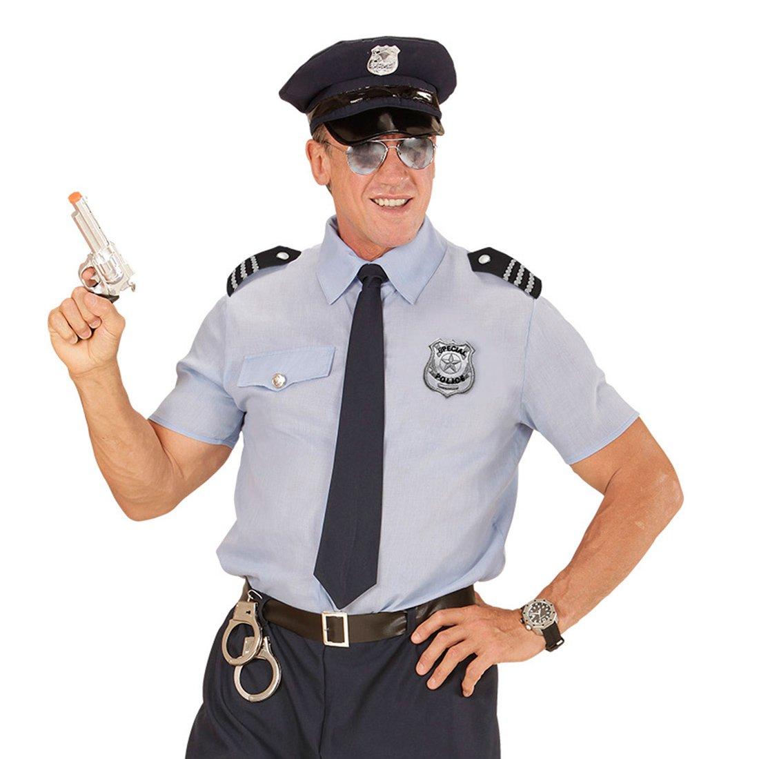Amakando con Gafas, Distintivo y Hombreras   Conjunto de Policía ...