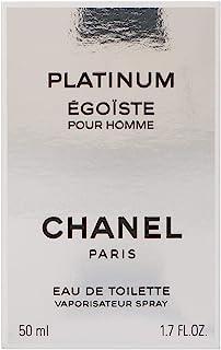 شانيل ايغوستي بلاتينيوم للرجال -او دي تواليت، 50 مل-