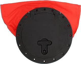 Redneck Convent Kayak Deck Plate Hatch Bag, 8in – Watertight & Water-Resistant Storage Bag for Keys, Sunglasses, Snacks, More