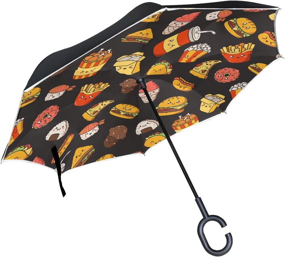 shipfree Tiny Umbrella Set Vector Ranking TOP5 Cartoon Kid Icons Doodle Junk