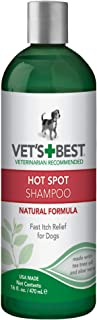 Vet's Best Hot Spot Itch Relief Shampoo for Dogs | Relieves Dog Dry Skin, Rash, Scratching, Licking, Itchy Skin, and Hot S...
