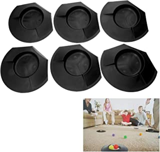 6pcs Plastic Golf Putting Green Cup Home Backyard Training Practice Accessory