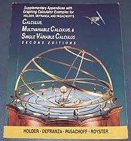 Supp Append W/Graph Calc - Calculus 0534233236 Book Cover