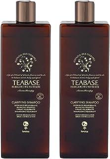 Shampoo detergente professionale 1000 ml tecna the spa teabase aromatherapy clarifying shampoo DUO PACK 2 x 500ml PROMOZIO...