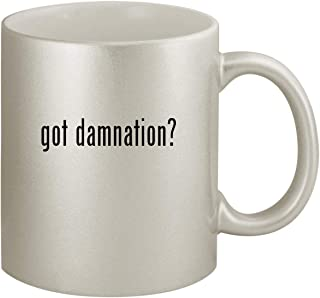 got damnation? - Ceramic 11oz Silver Coffee Mug, Silver