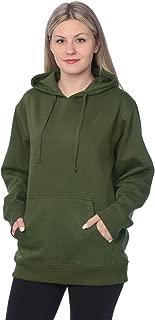 Women's Plus Size Active Fleece Pullover Hooded Sweatshirt