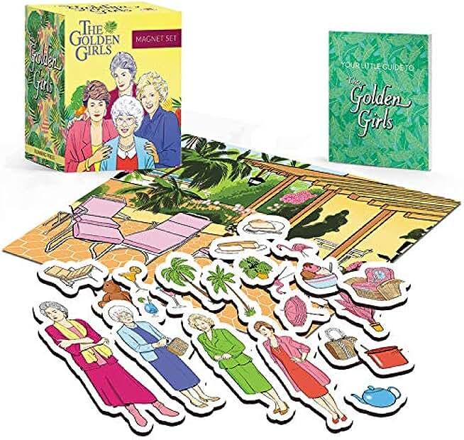 Golden Girls Magnet Set (Miniature Editions)