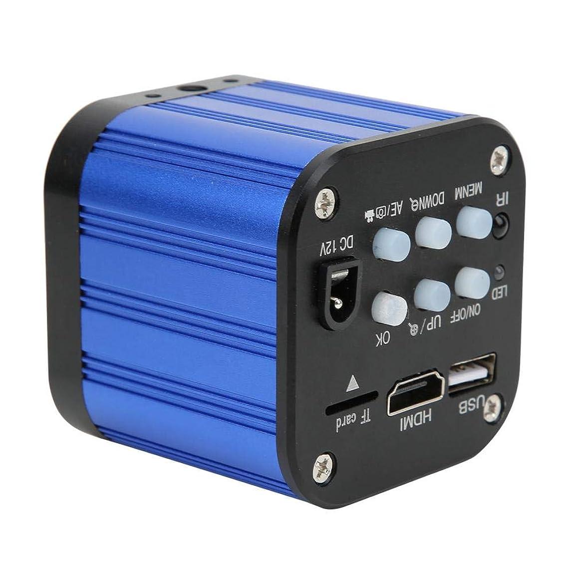 交流する快い誤ってリモコン付きUSBデジタル産業用顕微鏡カメラ、4K Hdmi産業用カメラ、電気顕微鏡カメラ、モバイルCPUおよびプリント基板用(米国のプラグ)