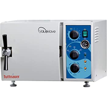 Tuttnauer 1730 Valueklave | Compact Footprint And Easy Operation | Ideal Autoclave For Small Offices
