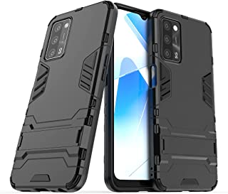 RanTuo Case for Huawei Y6s (2019), TPU + PC Hybrid Armor 2 in 1 Double Protective Cover, With Bracket, Cover for Huawei Y6...