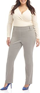 Rekucci Curvy Woman Ease in to Comfort Straight Leg Plus...