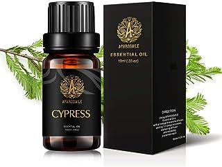 Aphrosmile Cypress Essential Oil - 100% Pure Cypress Oil, Organic Therapeutic-Grade Aromatherapy Essential Oil 10mL/0.33oz