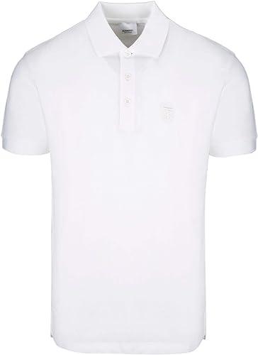 BURBERRY Homme 8014005 Blanc Coton Polo