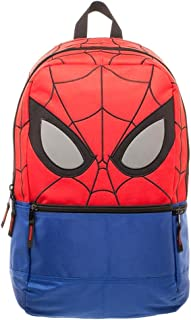 Marvel Comics Spider-Man Big Face Comic Book Superhero Backpack School Bag Tote