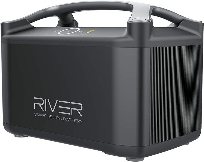 18 opinioni per EcoFlow RIVER Pro EB batteria addizionale 720 Wh, alimentatore di corrente
