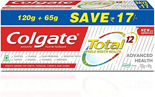 Colgate Total Advanced Health Anticavity Toothpaste 185G