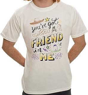 Camiseta Amigo Estou Aqui - Masculina