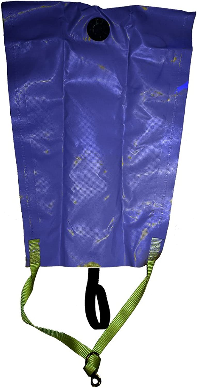JCS Vinyl Lift Bag, 100 Pound Rating (Included Dump Valve)