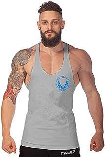 AKIROK タンクトップ メンズ ティーシャツドット リブ 無地 インナーティーシャツ ノースリーブ スポーツウェア ベスト ボディービル カジュアル