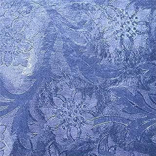 Oasis Supply Embossed Florist Foil, No Backing, 20IN x 50FT, Royal Blue