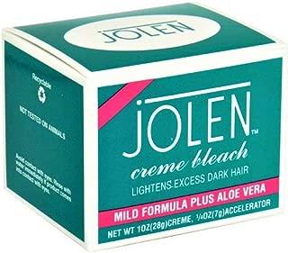 Jolen Creme Bleach Sensitive Formula Plus Aloe Vera 1oz. (Pack of 3)