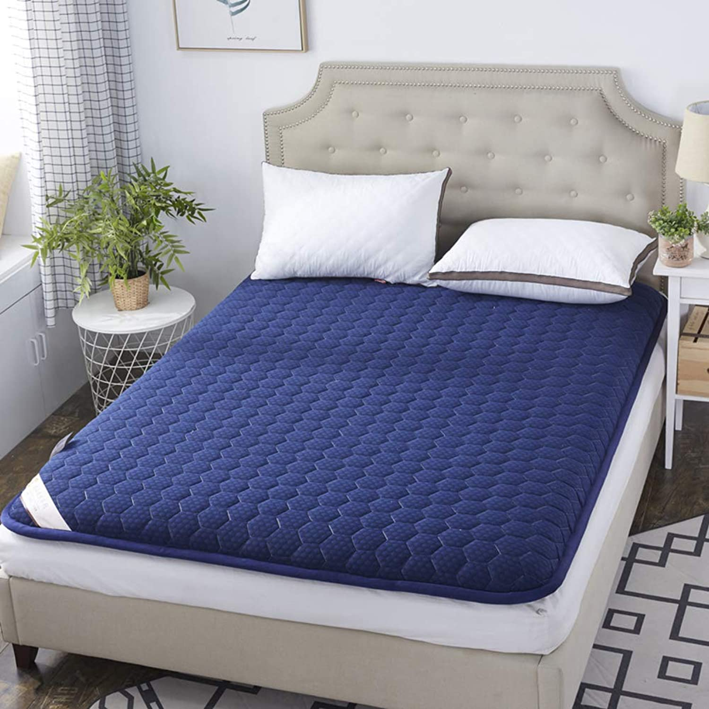 Folding Floor Sleep Tatami Mattress Mattress with Four Seasons,Single Double Student Dormitory Home Mattress-f 150x190cm(59x75inch)