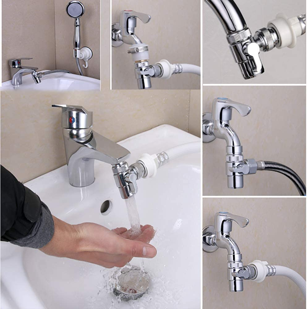 Buy Hstyaig Brass Sink Valve Diverter Faucet Splitter For Kitchen Or Bathroom Sink Faucet Faucet To Hose Adapter With Universal Faucet Adaptor Splitter Part Style A Online In Vietnam B07193dzdc