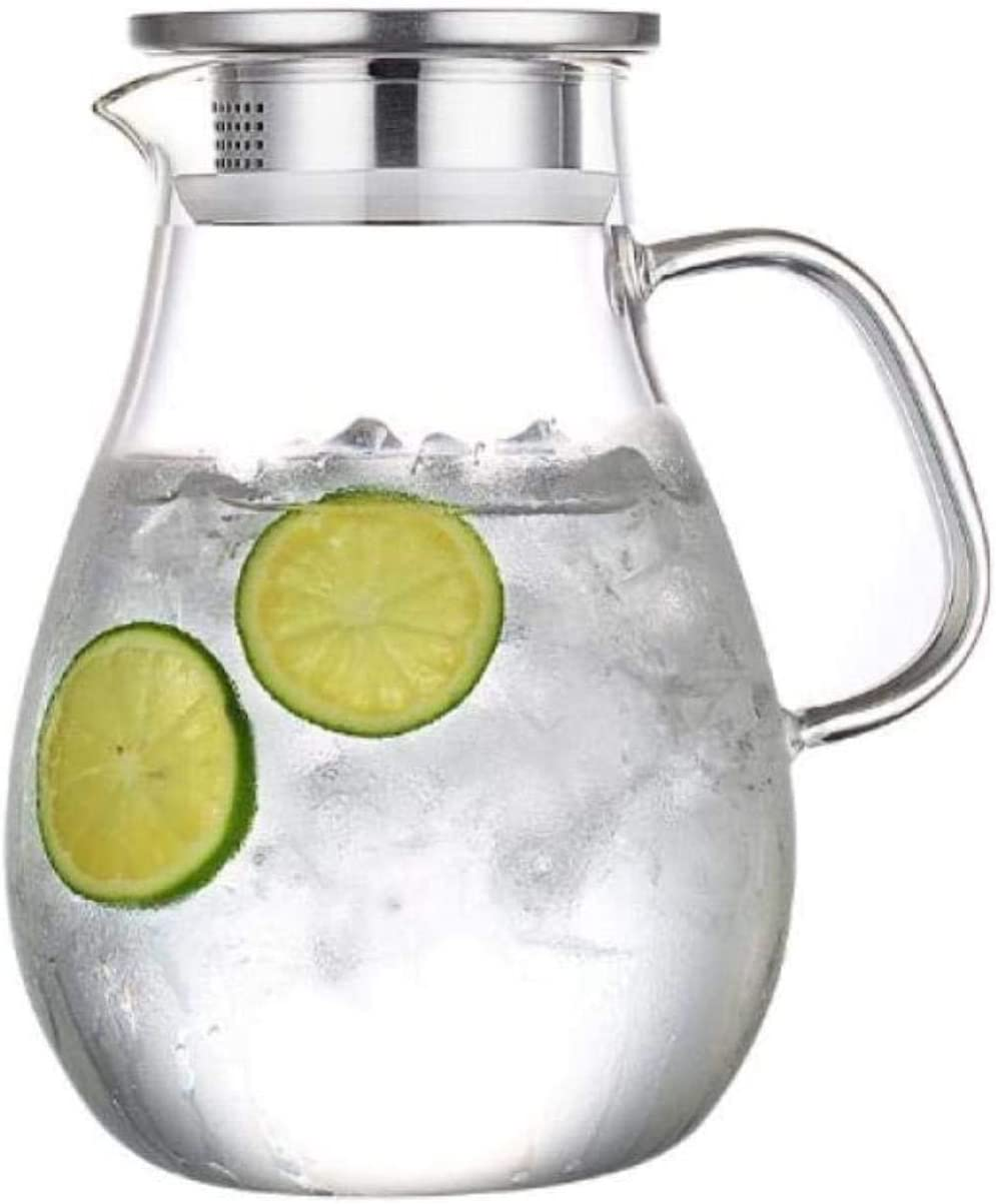 Reservation Super sale period limited Teapots Teapot Glass Water Pitcher Ice Carafe Juice St with Cold