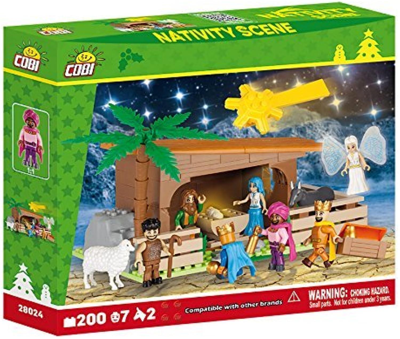 exclusivo COBI 200 Piece Nativity Scene Scene Scene Set by COBI  ventas directas de fábrica