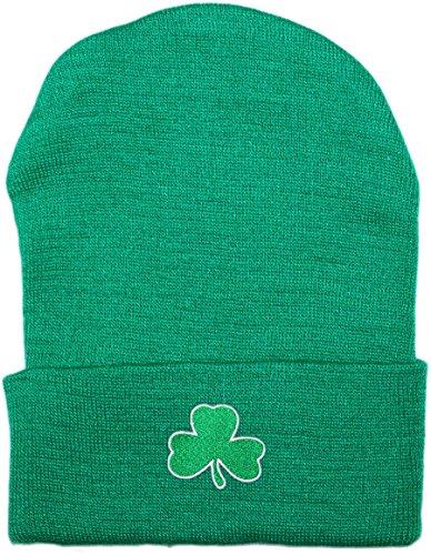 Creative Knitwear Irish Baby Shamrock Knit Cap