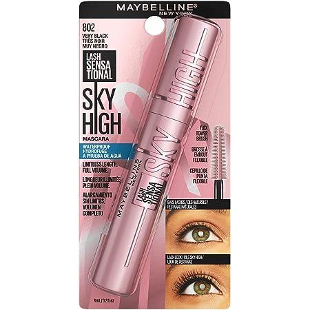 Maybelline Mascara lash sensational sky high A prueba de Agua Negro