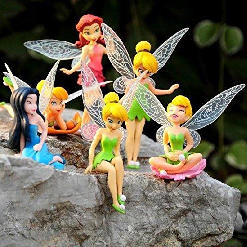 TOP BRAND Fée Clochette Volante Fée Adorable Poupée Fée Clochette Figurine Enfant Fille Jouets Sexy Animation pour Enfants Cadeau de Noël