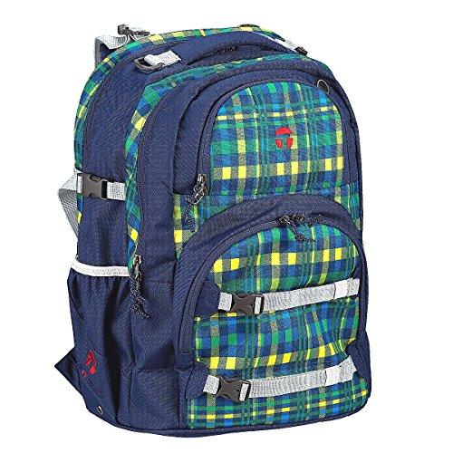 Take It Easy Schulrucksack OSLO-FLEX Crossy 502241 blau grün