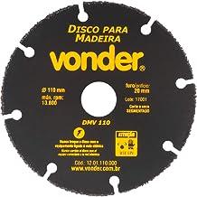 Disco De Corte Para Madeira Vonder 110 Mm