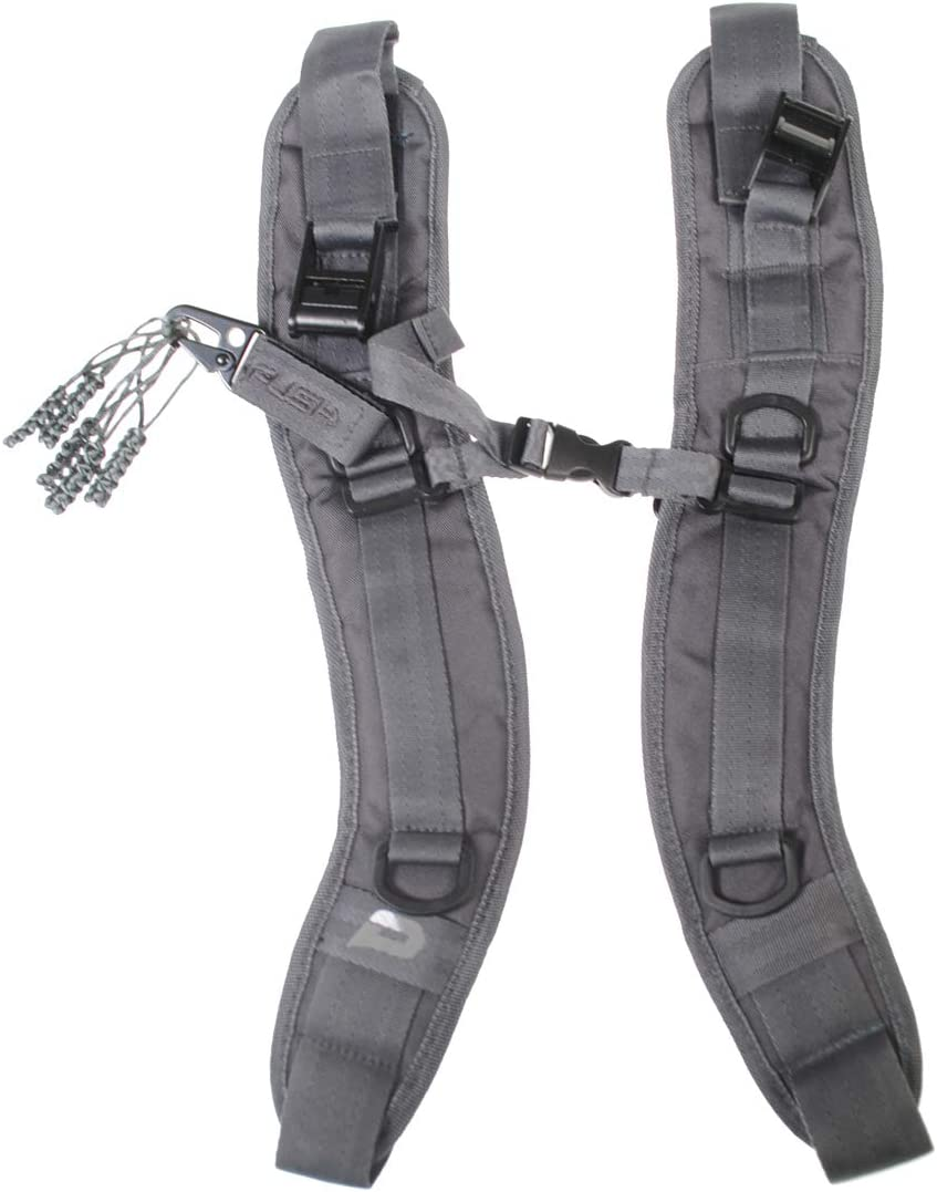 PUSH Paintball Backpack and Div1 Gear Bag Strap Kit